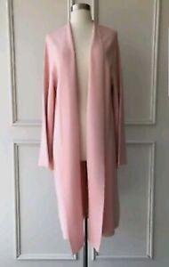 BNWT Trenery Milano Viscose Pale Pink Coat L 14