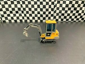 Joal JCB 801 Mini Hydraulic Excavator - Yellow/Grey - 1:35 Diecast Boxed