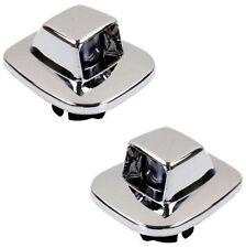 PAIR - License Plate Light Lens - Fits Chevy GMC Pickup Tahoe Yukon Suburban S10