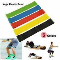 5Pcs Resistance Loop Bands Exercise yoga Band Crossfit Strength Fitness Training