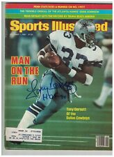 Tony Dorsett AUTOGRAPHED 1981 Sports Illustrated Magazine SIGNED Dallas Cowboys