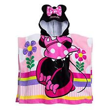 Minnie Mouse Hooded Towel for Kids Disney Approx. 25'' W x 43'' L