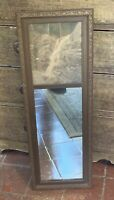 Vintage 1930's Mirror w/ Print of Waterfall New Hampshire