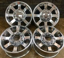 "20"" 20 INCH FORD f250 F350 SD POLISHED WHEELS RIMS 07-17 OEM SPECS SET Of 4 3693"