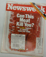 Newsweek Magazine Can This Meat Kill You E.Coli September 1997 WITH ML 042215R