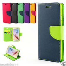 Xperia Z5, Z5 Premium, Z5 Compact Gel Flip Leather Wallet Case Cover for Sony
