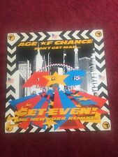 """AGE OF CHANCE DON'T GET MAD 12""""LP Vinyl Record MINT CONDITION Original"""