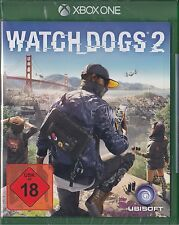 Watch dogs 2 pour la xbox one - 100% uncut-NEUF & OVP Allemand usk version