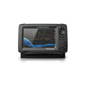 LOWRANCE HOOK Reveal 7 trasduttore 83/200 HDI basemap 000-15518-001