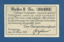 ALEMANIA // GERMANY -- NOTGELD -- NORDERNEY -- 25 PFENNIG ( 1920 ) -- aUNC .