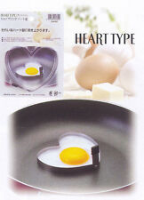 Stainless Steel Heart Shape Cooking Egg Mold #7244 S-2998
