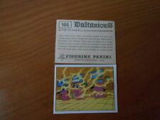 figurina DALTANIOUS n.166- ED. PANINI 1981 completa di velina