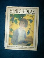 vintage ST. NICHOLAS magazine Sept. 1929 almost 100 yrs old