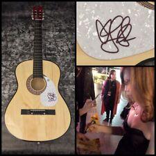 GFA Stay I Missed You * LISA LOEB * Signed Acoustic Guitar PROOF L2 COA