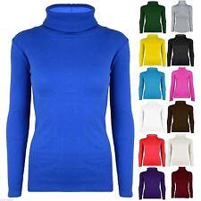 Long Sleeve Polo Neck Regular Jumpers & Cardigans for Women