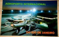 42262 Ak Avion International Airport Do Rio De Janeiro Brésil Turistico Night
