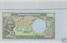 NOUVELLE CALEDONIE EPREUVE UNIFACE DU RECTO 5000 FRANCS (1971) PICK 65ES