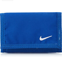 Nike Wallet Credit Card Holder Zip Purse Coins Cash Mens Womens Unisex  Blue