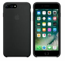 SCHWARZ ECHTES ORIGINAL Apple Silicone Case Silikon Hülle iPhone 7 Plus 5.5 ""