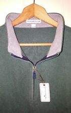 NEW Peter Millar Collection Quarter Zip Vest Pullover: Large $125.00 Green