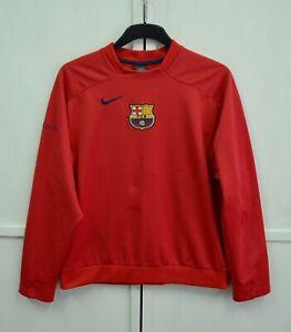 RARE! Barcelona Vintage Team Issue Storm-Fit Training Sweatshirt Pullover Nike M