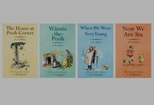 Winnie The Pooh 4 Book Set The complete Collection