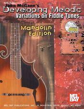 John Mcgann en desarrollo del melódico variaciones de violín Tunes