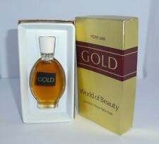 More details for vintage gold world of beauty perfume ~ 15ml  ~ very rare & collectable