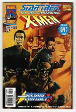STAR TREK THE NEXT GENERATION X-MEN 2nd CONTACT # 1B -1998 Marvel (vf) Wolverine