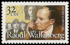 US 3135 Raoul Wallenberg 32c single (1 stamp) MNH 1997