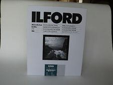 ILFORD MGIV RC DELUXE 8x10 perle 100 papier chambre noire