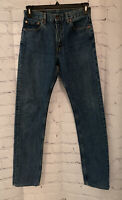 Levi's 505 Men's Regular Fit Straight Leg Blue Jeans - Medium Wash - 30x34