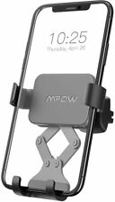 Mpow Car Phone Mount, Air Vent Cell Holder, Gravity Black