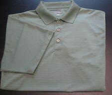 Men's ZORREL Polo Shirt Rugby Business Casual Bright Avocado Green XL     mm-1