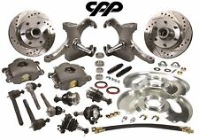63-70 CHEVY C10 PICKUP TRUCK DROP SPINDLE DISC BRAKE CONVERSION KIT 6 LUG