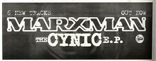 "ARTICLE - ADVERT 12/11/94PGN12 4X11"" MARXMAN : THE CYNIC E.P"