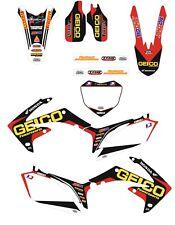Kit Grafiche Adesivi HONDA CRF 450 DAL 2009 AL 2012 09 10 11 12 (77)