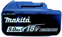 NEW GENUINE Makita LED GAUGE BL1850B 18V Battery 5.0 AH 18 Volt Fuel