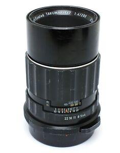 ✮ Pentax 200mm f/4 Super Multi Coated Takumar für Pentax 6x7 // vom Händler!