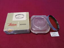MINT LEICA 13160/XOOQG LEICA E41/41MM YELLOW FILTER 50MM/5CM F1.5 SUMMARIT LENS