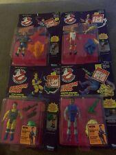 Kenner Real Ghostbusters Screaming Heroes Set of (4) Nib