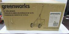 Greenworks 14-Inch Reel Lawn Mower
