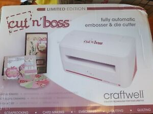 Craftwell Cut /& Boss Limited Edition Embosser /& Die Cutter  CW-CNB-WD1 new