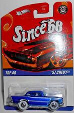 Hot Wheels Since '68 Top 40 Series '57 CHEVY w/WWs (Blue)