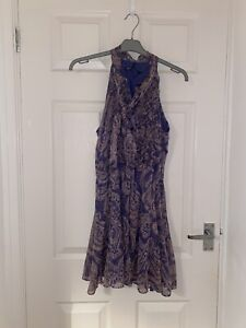 BNWT Zara Purple Paisley Playsuit Size Medium SOLD OUT
