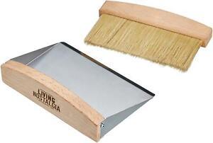 KitchenCraft Living Nostalgia Tabletop Dustpan & Brush Set