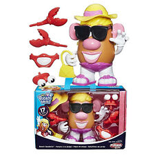 Disney Toy Story Mrs Potato Head Beach Spudette Action Figures Kid Sand Play Set