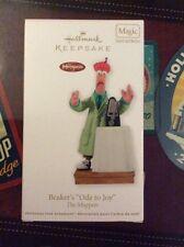 2011 Hallmark Ornament Beaker's Ode to Joy Muppets Magic Sound & Motion QXI2157