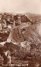 WELLINGTON, NEW ZEALAND, ORIENTAL BAY & ROAD, TROLLEY, REAL PHOTO PC dated 1934