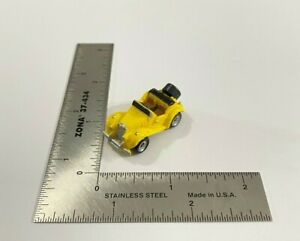 Micro Machines 1986 Galoob '36 Yellow MG T-Type Roadster Car